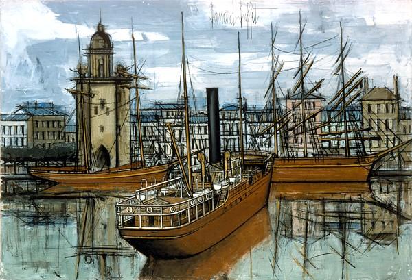 Bernard Buffet   1928 - 1999   - Peintre Francais
